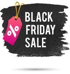 Black Friday Sale Promo Abstract vector image vector image