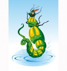 cartoon insect vector image vector image