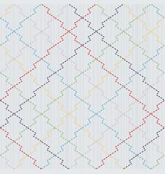 sashiko seamless pattern japanese pine bark motif vector image vector image