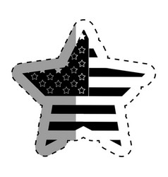 United states of america star vector
