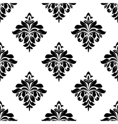 Foliate seamless pattern background vector