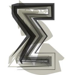 Abstract symbol vector