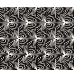 Seamless black white geometric bursting vector