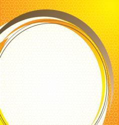 technical base orange vector image vector image