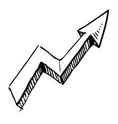Crankle arrow vector