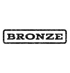 Bronze watermark stamp vector