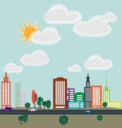 City 1 vector image
