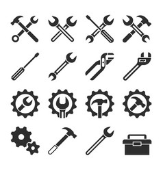 Technology and maintenance service tools vector