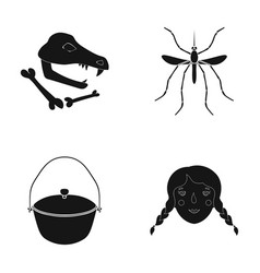 History museum nature and other web icon in vector