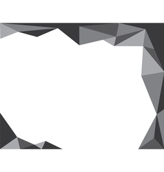 Background trangle n4 black vector