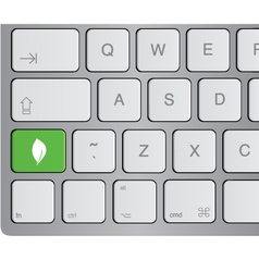 media icon keyboard vector image