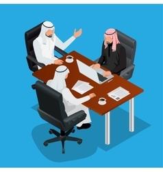 Business meeting concept international business vector