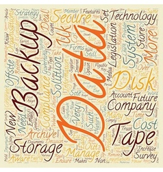 Companies must be prepared for data storage and vector