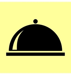 Server sign Flat style icon vector image
