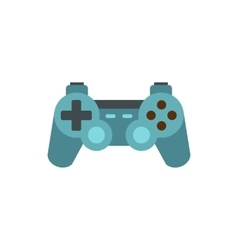 Game joystick icon flat style vector