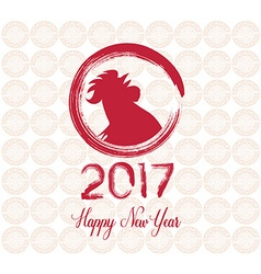 2017 happy new year celebration chinese new year vector