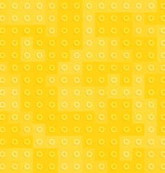 Yellow constructor blocks seamless pattern vector image vector image