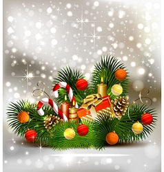 Christmas still life vector