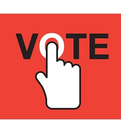 Vote title button 2 vector