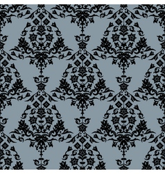 background with seamless pattern vector image vector image