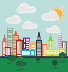 City 1a vector image