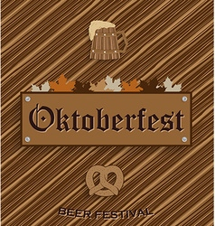 Oktober fest background vector
