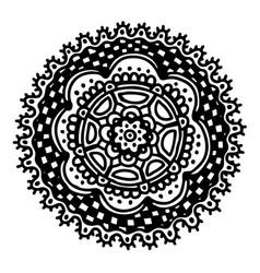 Painted circle vector