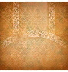 Vintage lace banner vector