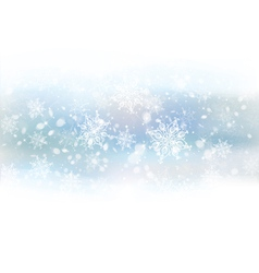 Background white snowflakes vector