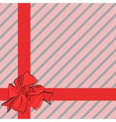 beautiful gift vector image