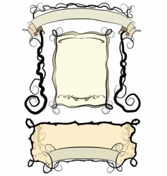 frames vector image vector image