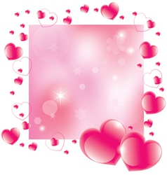 Abstract valentines day background vector