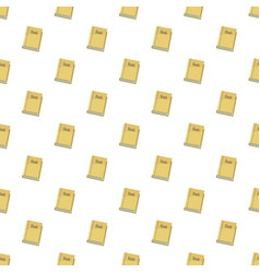 Book pattern vector