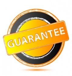 guarantee seal vector image vector image