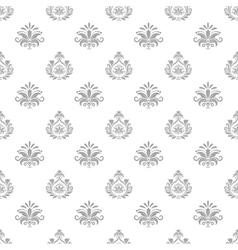 Wallpaper in baroque style vector