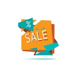 Big sale sale tag sale poster vector