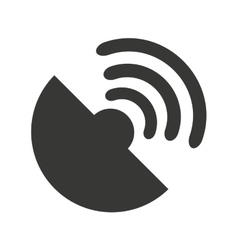 Wifi waves signal icon vector