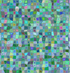 Color irregular rectangle mosaic background vector