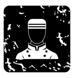 Doorman icon grunge style vector