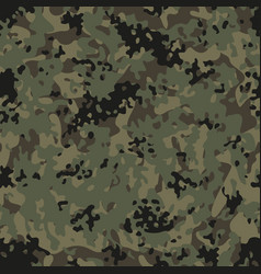 Modern flectarn camouflage seamless patterns vector
