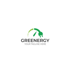 Renewable energy logo template vector