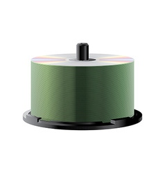 CD stack vector image