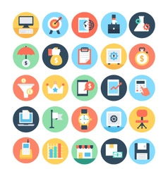 Business and seo icons 3 vector