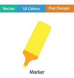 Marker icon vector