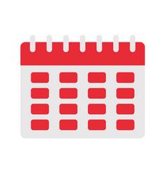 calendar planner icon vector image vector image