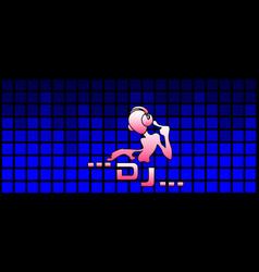 Dj music vector