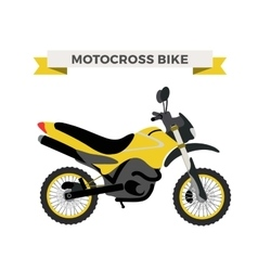 motorcycle Moto bike isolated vector image