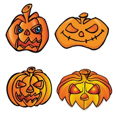 Halloween head vector