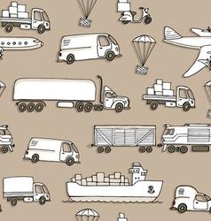 Sketches of cargo delivery vector