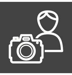 Photographer ii vector
